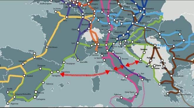 Comprendere l'Abruzzo  nelle reti transeuropee Ten-T – L'appello delle Associazioni datoriali e sindacali